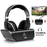 Best Headphone For Tvs - Digital Wireless Over-Ear Headphones for TV,Artiste 2.4GHz UHF/RF Review