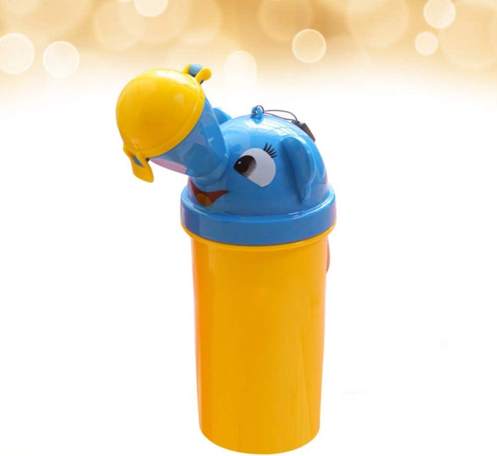 STOBOK Tragbare Notfall Urinal Toilette T/öpfchen Kleinkind Pinkeln Ausbildung Tasse f/ür Baby Kind Kinder Auto Reise Outdoor Camping Liefert Rot