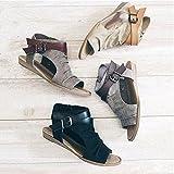 ShiningLove Women Canvas Sandals Large Size