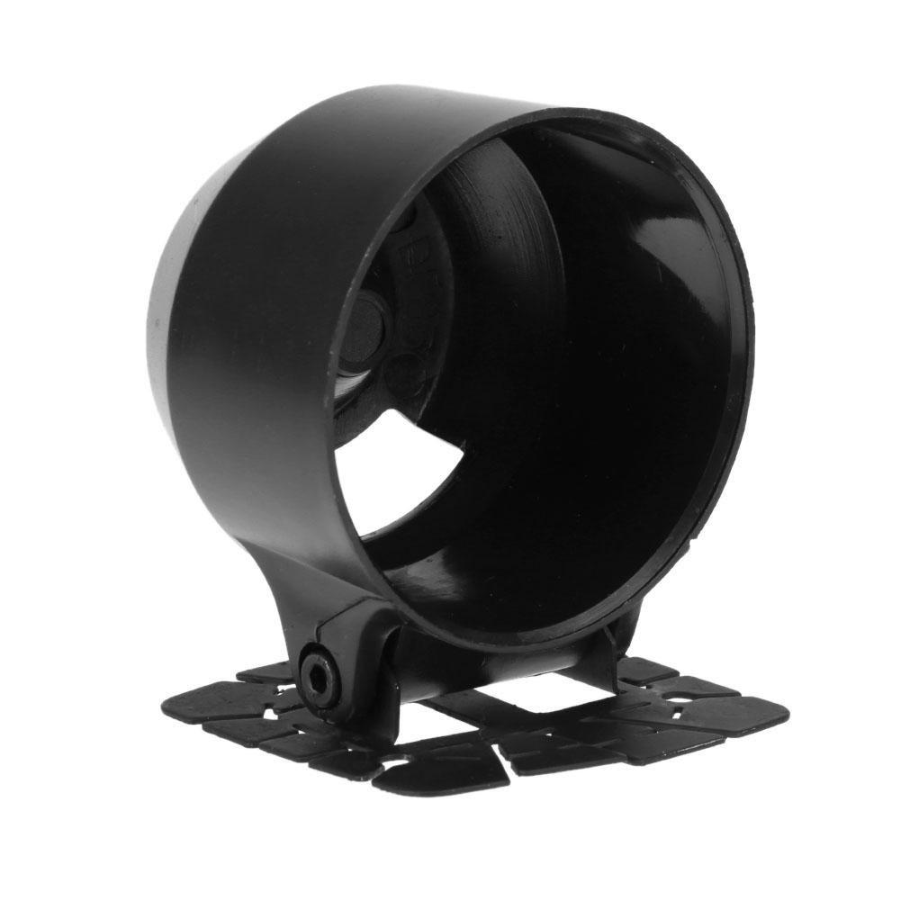 "2/"" 52mm Car Auto Dash Single One Hole Pod Gauge Meter Mount Holder Cup Black TW"