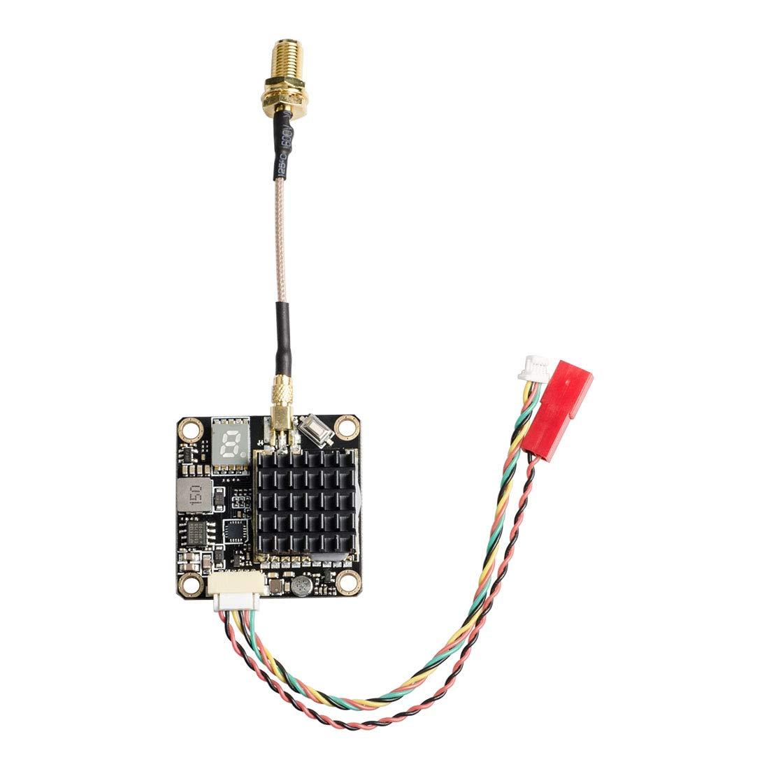 Wirelessan 5.8GHz 250mW/500mW/1000mW/2000mW Power Long Range Switchable FPV Transmitter with MMCX and FC Uart by Wirelessan (Image #3)