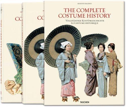 By Francoise Tetard-Vittu Auguste Racinet: Complete Costume History, 2 Vol. (25) (Slp Mul Re) [Hardcover]