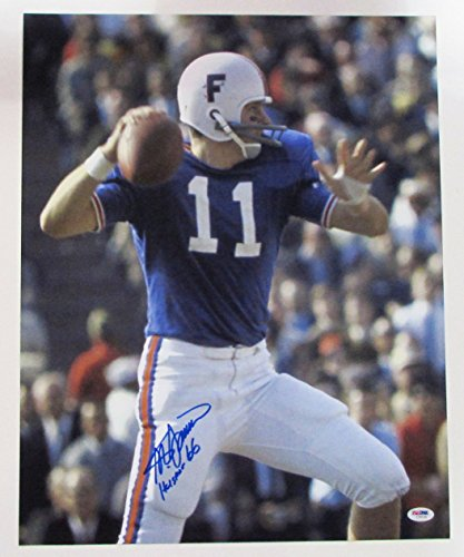 Steve Spurrier Signed Autographed 16x20 Photo PSA/DNA Gators Heisman (Steve Spurrier Autographed Gators)