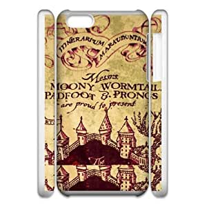 iphone5c Phone Case White Deathly Hallows WQ5RT7441595