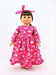 """Hotpink Unicorn Night Gown