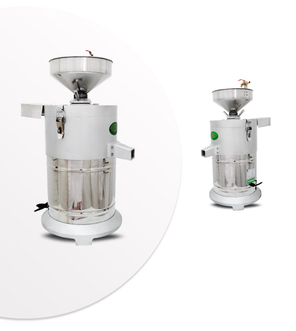Commercial aluminum alloy Healthy Nutrition Soymilk Maker Commercial large Soymilk Maker Soybean Milk machine Electric fiberizer Automatic Soya Milk and Dregs separater Splitter 150kg/h by CGOLDENWALL (Image #3)