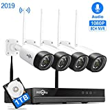 Best Surveillance Systems - [Expandable 8CH] Wireless Security Camera System with Audio,Hiseeu Review