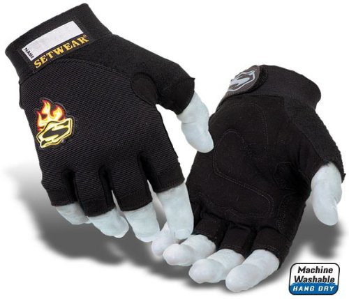 Setwear Synthetic Fingerless Glove - X-Large
