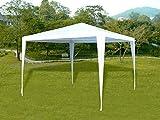Tenozek 10′ x 10′ New Party Tent Outdoor Heavy Duty Gazebo Wedding Party Canopy Shelter White