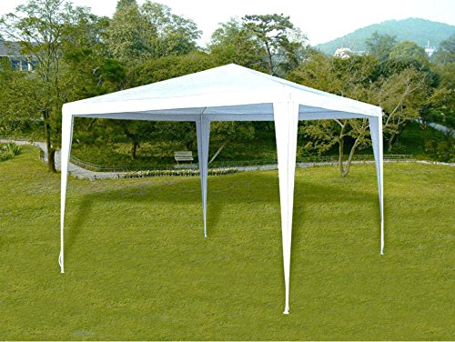 Tenozek 10′ x 10′ New Party Tent Outdoor Heavy Duty Gazebo Wedding Party Canopy Shelter White by Tenozek