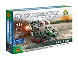 Young Constructor -Erector_ Kasirga Model Building Set, 271 Pieces, For Ages 8+, 100% Compatible with All Major Brands including Meccano