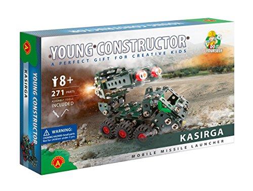Stemkids Erector Constructor Kasirga Model Building Set, 271 Pieces Ages 8+, 100% Compatible All Major Brands Including Meccano, Educational STEM Learning Sets Kids