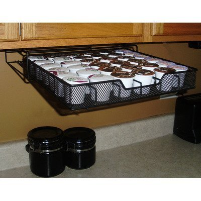 K-Kup Holder 50 Under The Cabinet Coffee Pod by K-Kup Holder