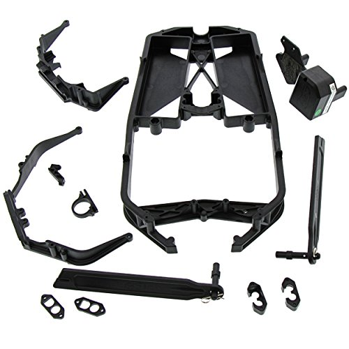 Lst Chassis - Team Losi Losi LST 3XL-E 4WD 1/8: Chassis, Braces, Receiver Box, Straps & Mounts