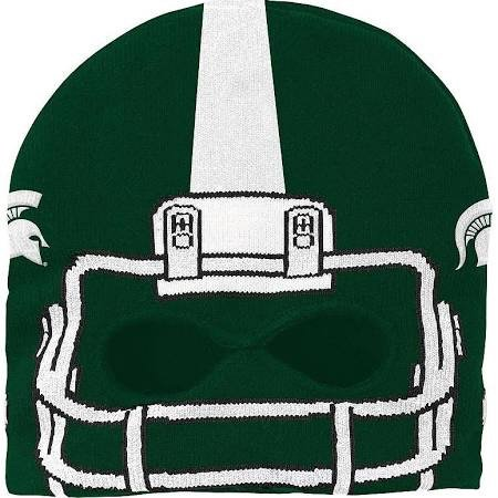 Michigan State Spartans Mask Knit Cap - - Mask Michigan