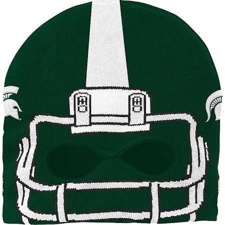 Michigan State Spartans Mask Knit Cap - - Michigan Mask