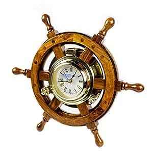 51NWubv0ydL._SS300_ Coastal Wall Clocks & Beach Wall Clocks