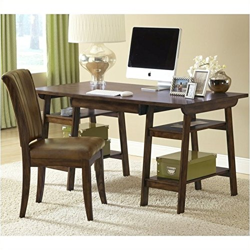 Hillsdale Parkglen Desk and Chair – Cherry