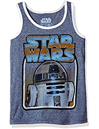 Little Boys' Vintage Inspired Logo R2-d2 Tank