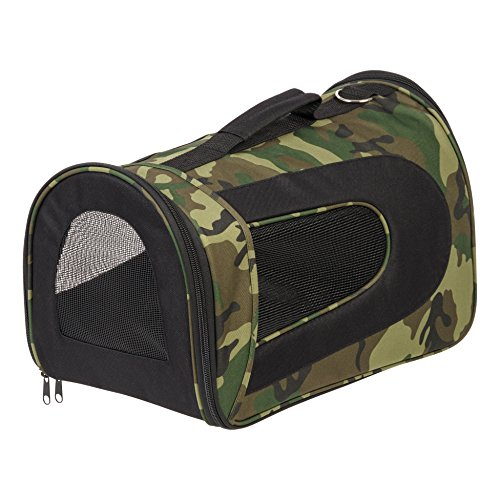 IRIS Medium Soft Sided Carrier, Camo (Carrier Dog Camouflage)