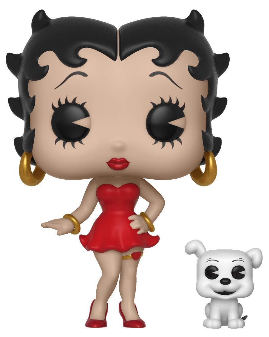 Funko Pop Animation Boop-Betty Boop /& Pudgy Figura 33432 Multicolor