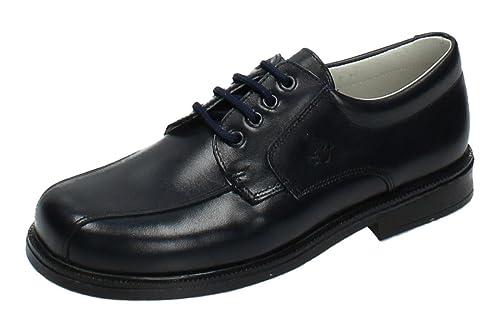 YOWAS 6894 Zapatos Piel Azul NIÑO Zapato COMUNIÓN: Amazon.es: Zapatos y complementos