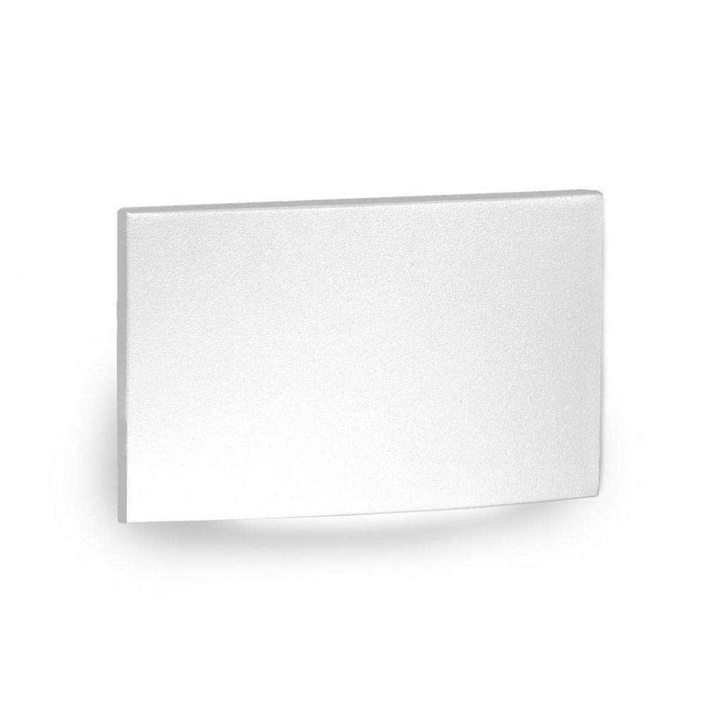 WAC Lighting WL-LED110F-C-WT 277V 3000K LED Horizontal Scoop Step and Wall, White