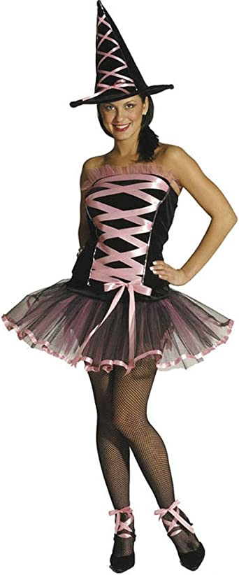 WITCHY LA BOUF BALLERINA WITCH HALLOWEEN COSTUME WOMENS 6-12