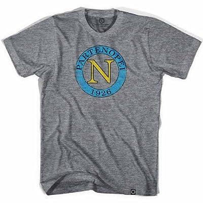 Ultras Soccer Wear Napoli 1926 T-Shirt, Athletic Grey