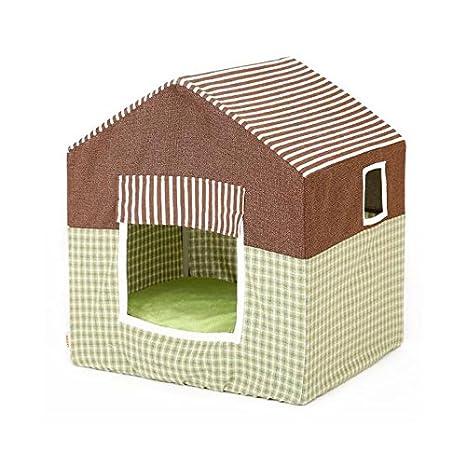 Pet harem Casa para perros Suministros de mascotas desmontables Casetas para gatos Casetas de peluche Perreras para perros: Amazon.es: Hogar