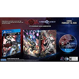 Bayonetta & Vanquish 10th Anniversary Bundle: Launch Edition - PlayStation 4