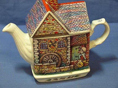 Sadler England The Old Mill 1812 English Tea Pot
