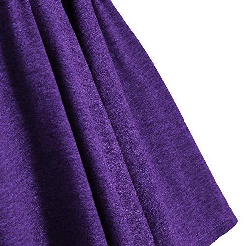 Donna Nuda Moda Allentata Lunghe Una Top Partito Aperto Spalla Longline Semplice T Lila Glamorous Pieghe Camicia Off Quotidiani Asimmetrica All Shirt dqtw6qa5W
