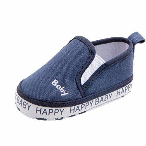 Amanod Newborn Infant Baby Solid Embroidery Anti-slip Soft Casual Lazy Shoes Sneaker