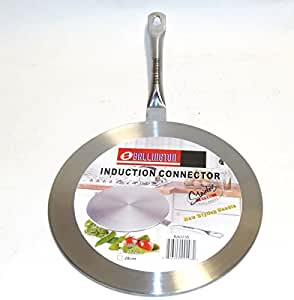 "New Induction Cooktop Converter Interface Disc 11"" Stainless Steel"