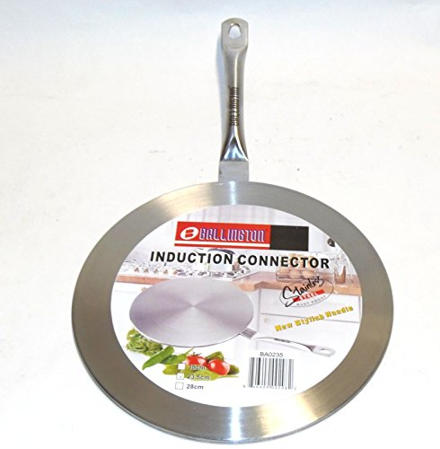 Ballington 7.5 Silver Stainless Steel Interface Converter Induction Cooktop