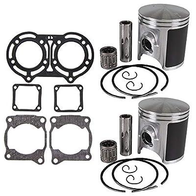 NICHE 64mm Piston Gasket Ring Top End Kit For Yamaha Banshee 350 2GU-11181-00-00 3GG-11351-02-00 93450-17129-00: Automotive
