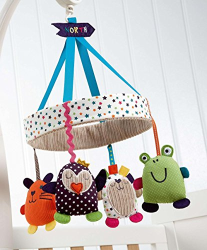 Mamas and Papas Timbuktales Musical Cot Mobile by BabyCentre