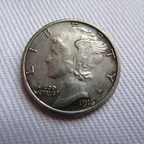 1916-D USA Mercury Dime coins COPY (1916 D Mercury Dime)