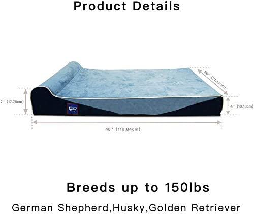 Laifug-Orthopedic-Memory-Foam-Extra-Large-Dog-Bed