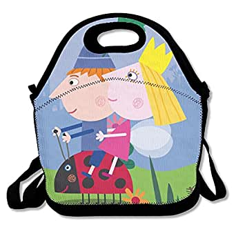 Ben y Holly pequeño Reino de almuerzo Tote Bag