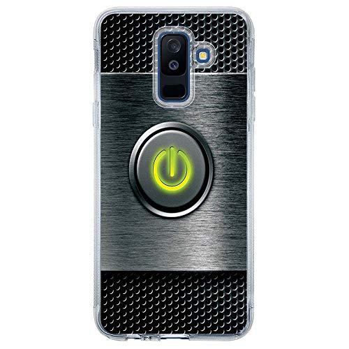 Capa Personalizada Samsung Galaxy A6 Plus A605 Hightech - HG07