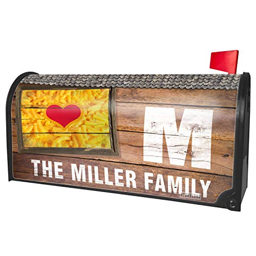 NEONBLOND Custom Mailbox Cover Macaroni and Cheese (Love)]()