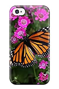 New Cute Funny Butterfly Closeup Case Cover/ Iphone 4/4s Case Cover