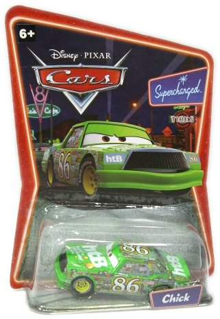チック・ヒックス #86(グリーン) 「カーズ」 キャラクターカー6 H6412の商品画像