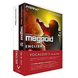 VOCALOID3 Megpoid English Starter Pack Windows Software Vocaloid 3 Japan