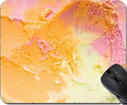 MSD Natural Rubber Mouse Pad Mouse Pads/Mat design 21303126 Sherbert background
