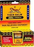 Tiger Balm Ultra Strength 0.63 oz Pack of 24)