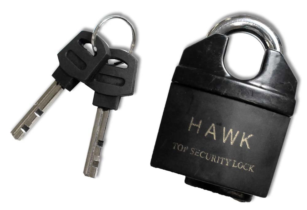 2'' (50mm) Top Security Reinforced Steel Padlock by ToolUSA