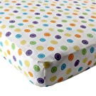 Luvable Friends Geometric Print Fitted Knit Crib Sheet, Multi Colors